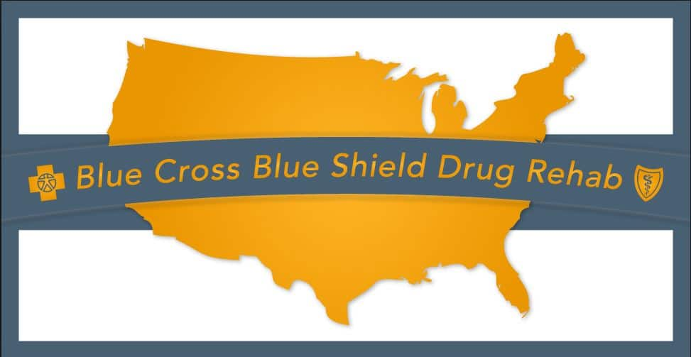 blue cross blue shield rehab coverage logo